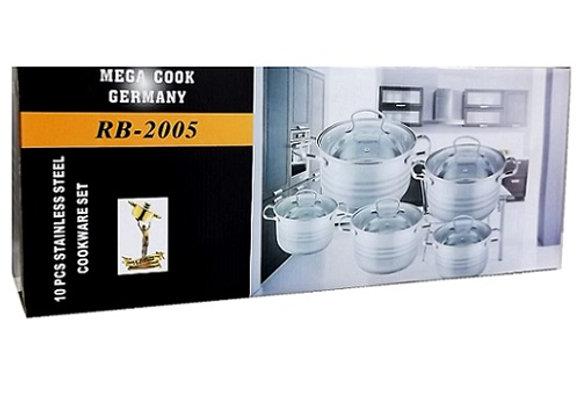 Mega Cook Germany RB-2005 Set (10 pcs)