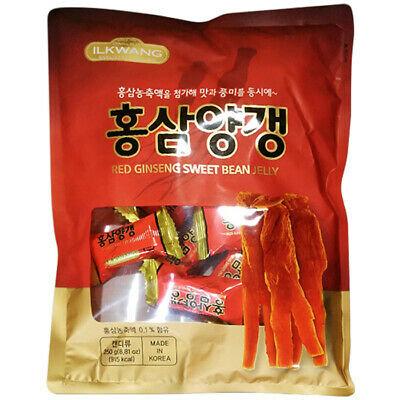 Red Gingsen Sweet Bean Jelly Candy- Keo Sâm Trị Bệnh