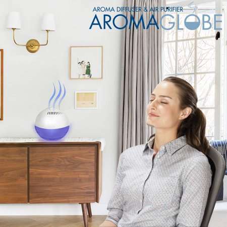 U.S. JACLEAN Aroma Globe Air Washer and Room Revitalizer - White Noise Machine A