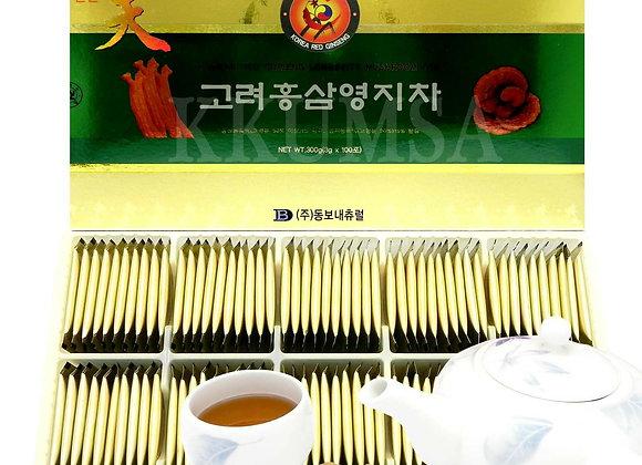 Red Ginseng Mushroom Tea - Trà Hồng Sâm Linh Chi. Buy 1 Get 1.PRICE FOR 2 BOXES
