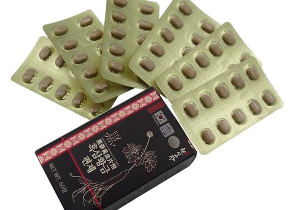 Black Ginseng Gold Tablet 60 Pills - Sâm Đen Viên 60 Viên