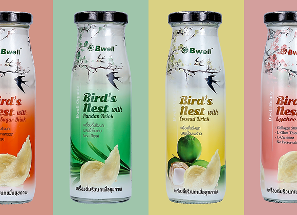 Bird's Nest Drinks - Nước Yến Giải Khát. Buy 10 Get 2 Free. PRICE FOR 10 BOTTLES