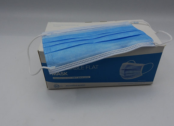 Disposable Flat Mask
