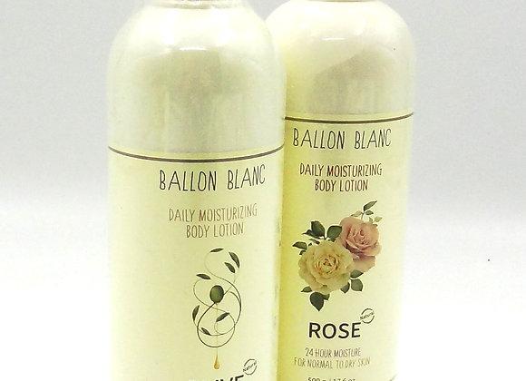 Lotion Ballon Blanc Olive & Rose