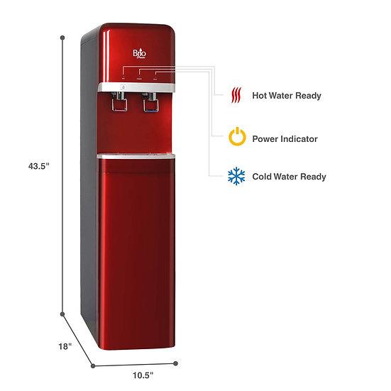 Dispenser Cooler Full Standing - Máy Làm Nước Nóng Lạnh Có Filter