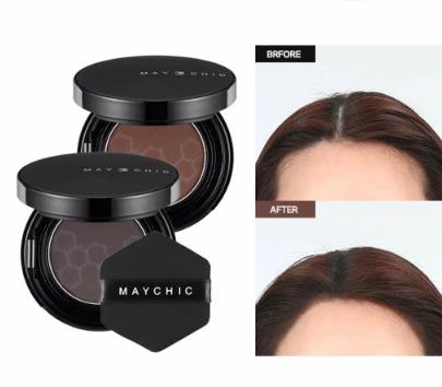 Maychic Hair Full Hair Cushion- Phấn Phủ Làm Tóc Dày, Đẹp,Che Khuyết Điểm