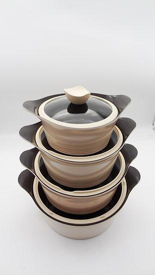 Turkey Premium Ceramic 10 Pieces Cookware Set - Bộ Nồi Thổ Nhĩ Kỳ 10 Miếng