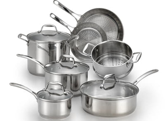 12 Pieces Cookware Set by ASTIVITA - Bộ Nồi Đức. Buy 12 Pieces Get 1P Free.