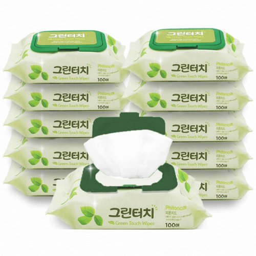 Green Touch Wipes - Khăn Giấy Ướt. PRICE FOR 5 UNITS