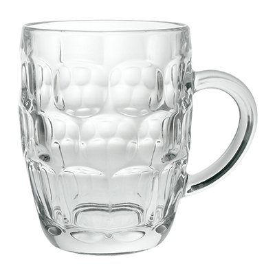 Dimple Tankard Pint Glass