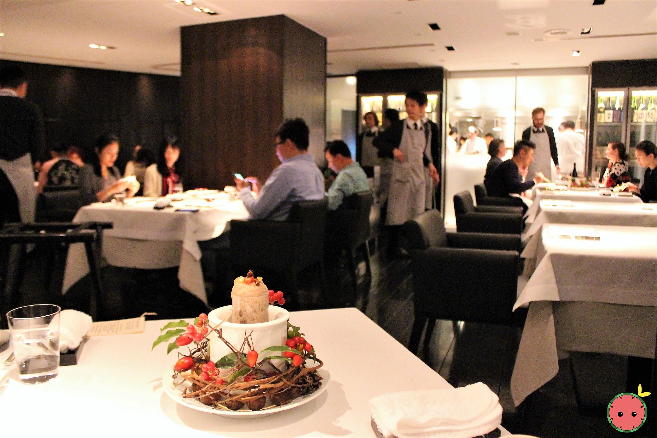 Narisawa Dining Area