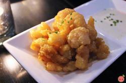Rock Shrimp - Korean chili sauce, wasabi dressing, housemade ranch dressing (1)