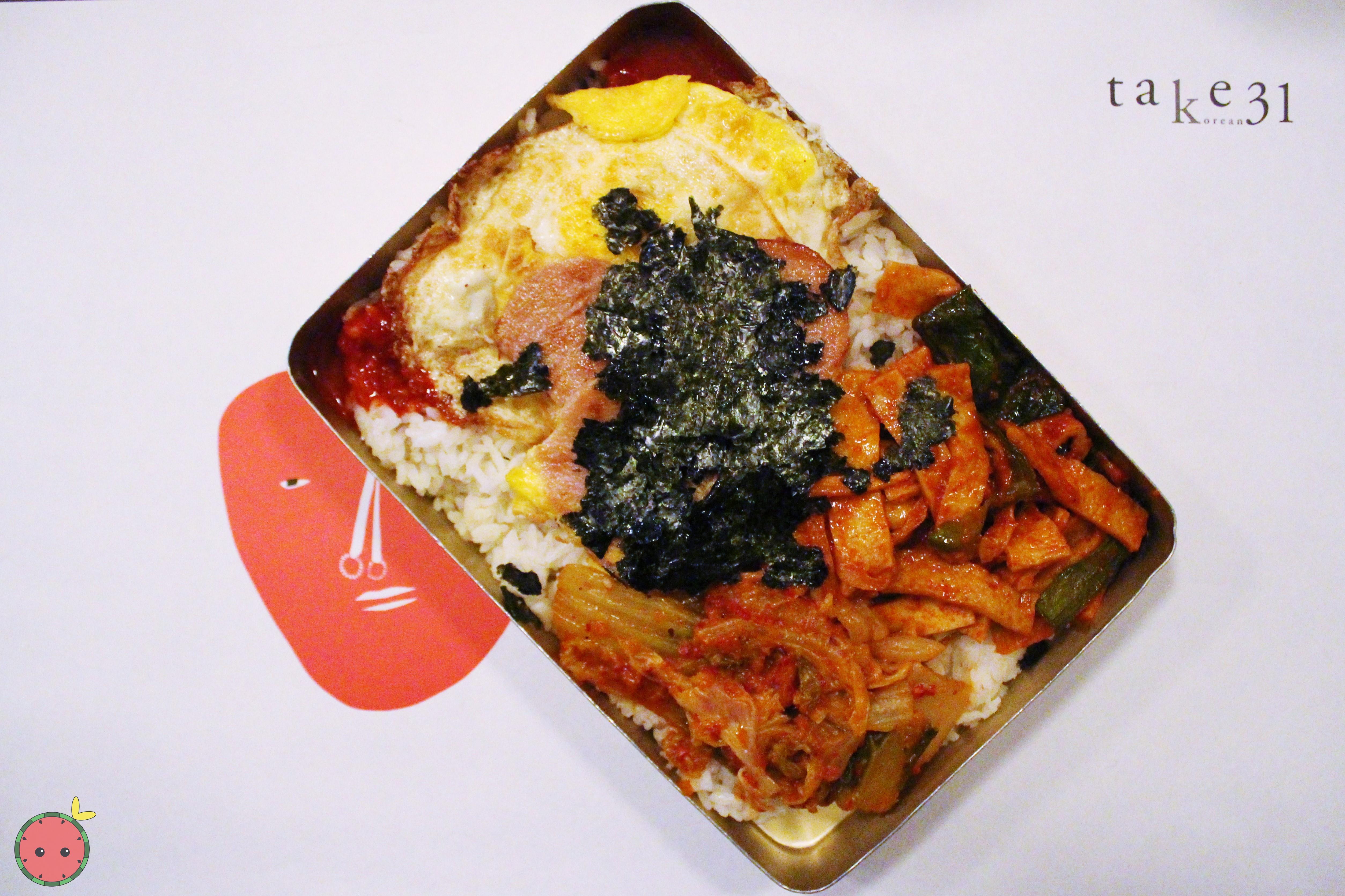 Dosirak (Korean Lunchbox)