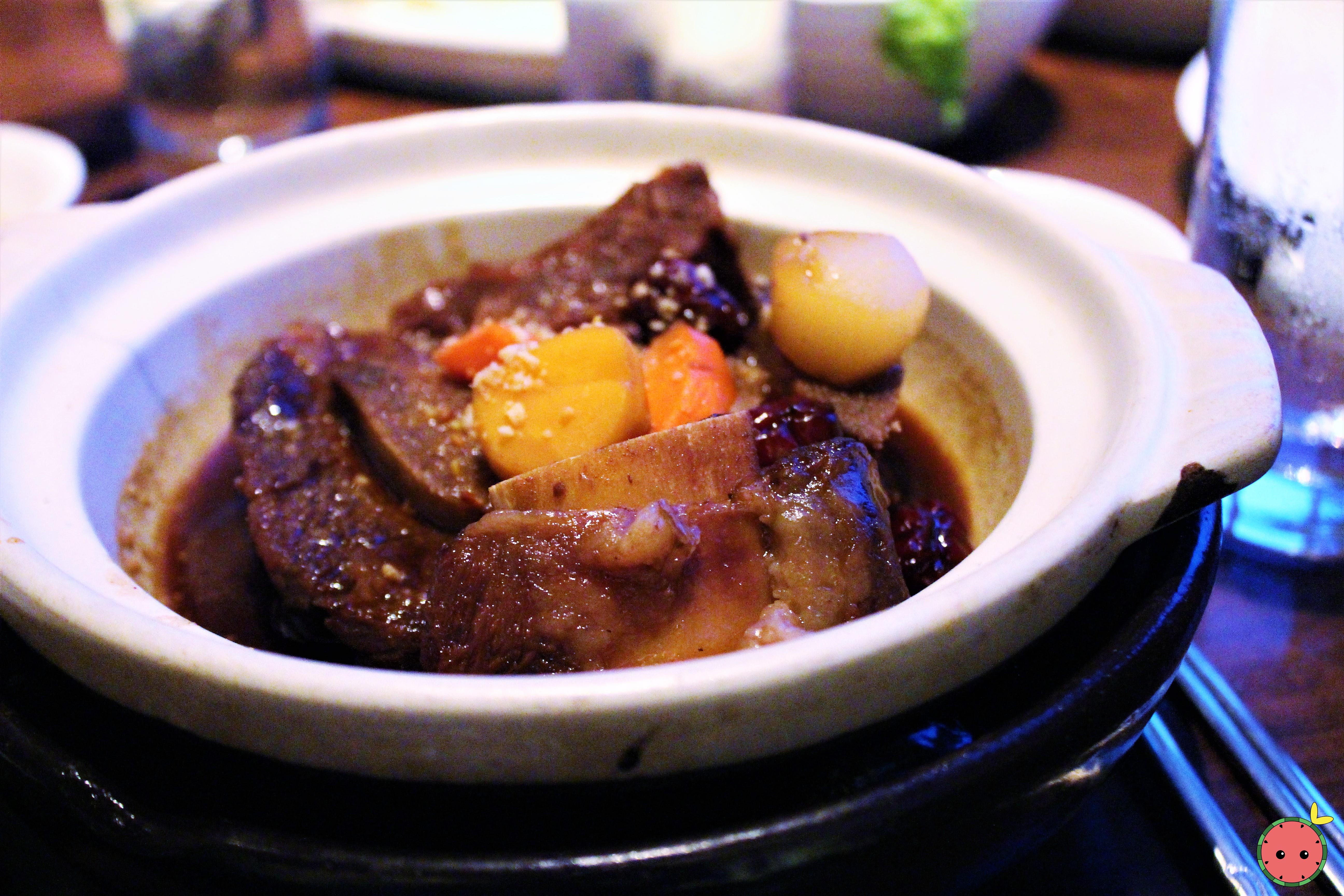 Galbi Jjim - Beef short rib, carrot, chestnut