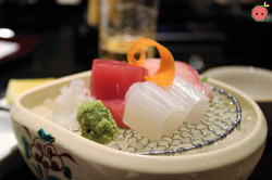 Assorted Sashimi (Hamachi, Akami, Ika) 4