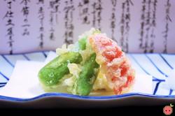 Abura-mono - Cod fish, red paprika, and green chili