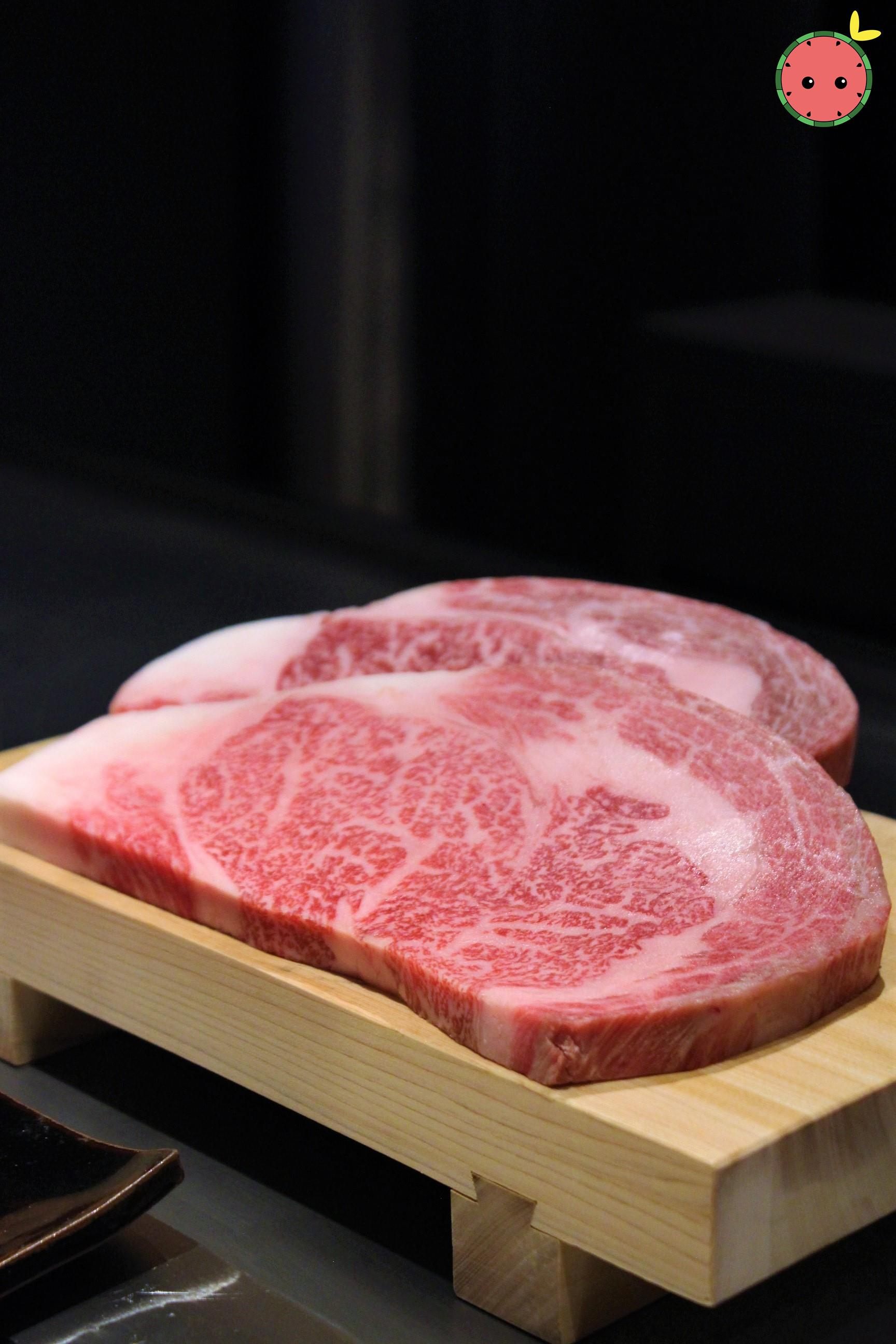 Kobe Rib-eye and Mouriya Special Select Rib-eye 6