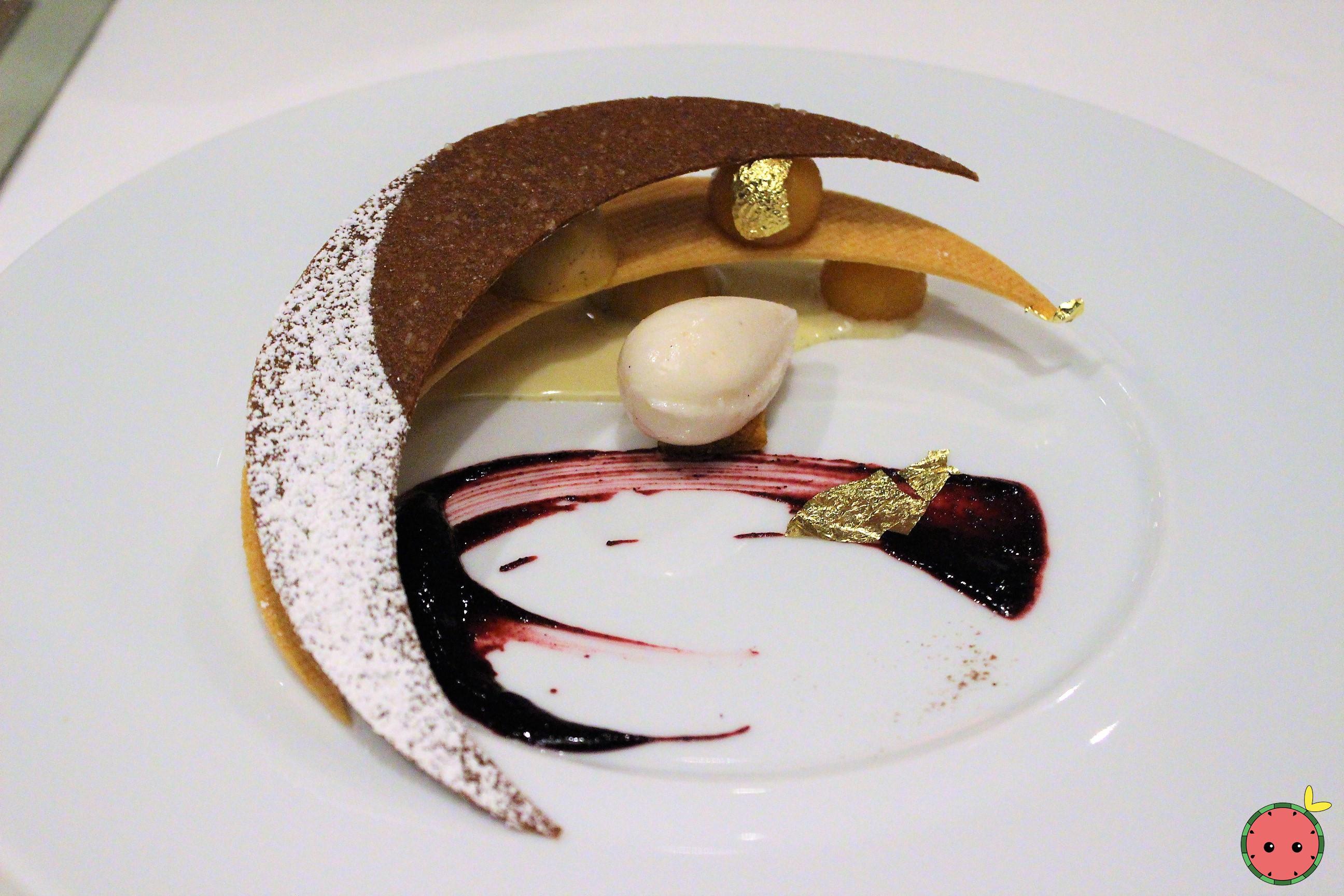 Comfort_Caramel_Pear_Dessert_(gingersnap_tuile,_caramel-pear_crémeux,_pear_sorbet)