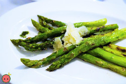 Asparagus with Reggiano & Extra Virgin Olive Oil
