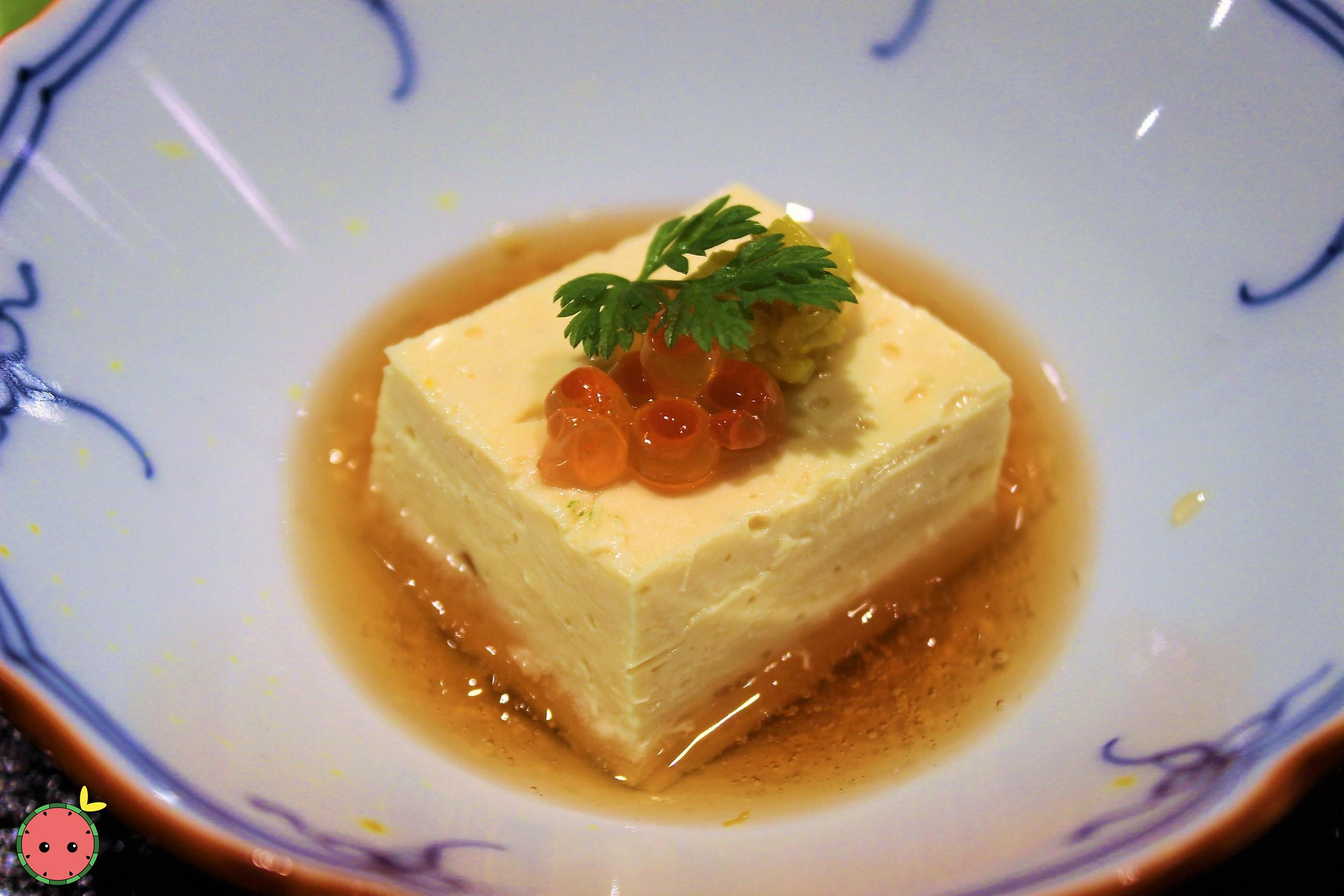 Yuba Tofu with Dashi and Soy Sauce