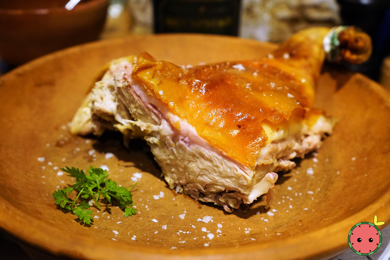 Half Segovian Suckling Pig