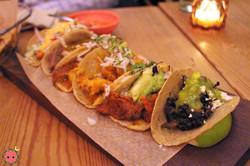 Taco Flight - Al Pastor, Suadero, Pescado, Picadillo, Hongos, & Tinga De Pollo 4