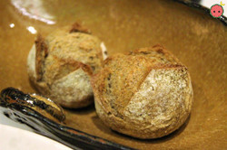 Rosemary Buckwheat Rolls with Whipped Lardo