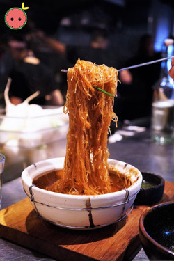 Clay Pot Baked Glass Noodles