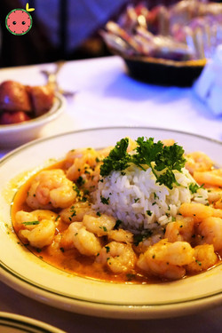 Shrimp Etouffee with Parsley Buttered Rice