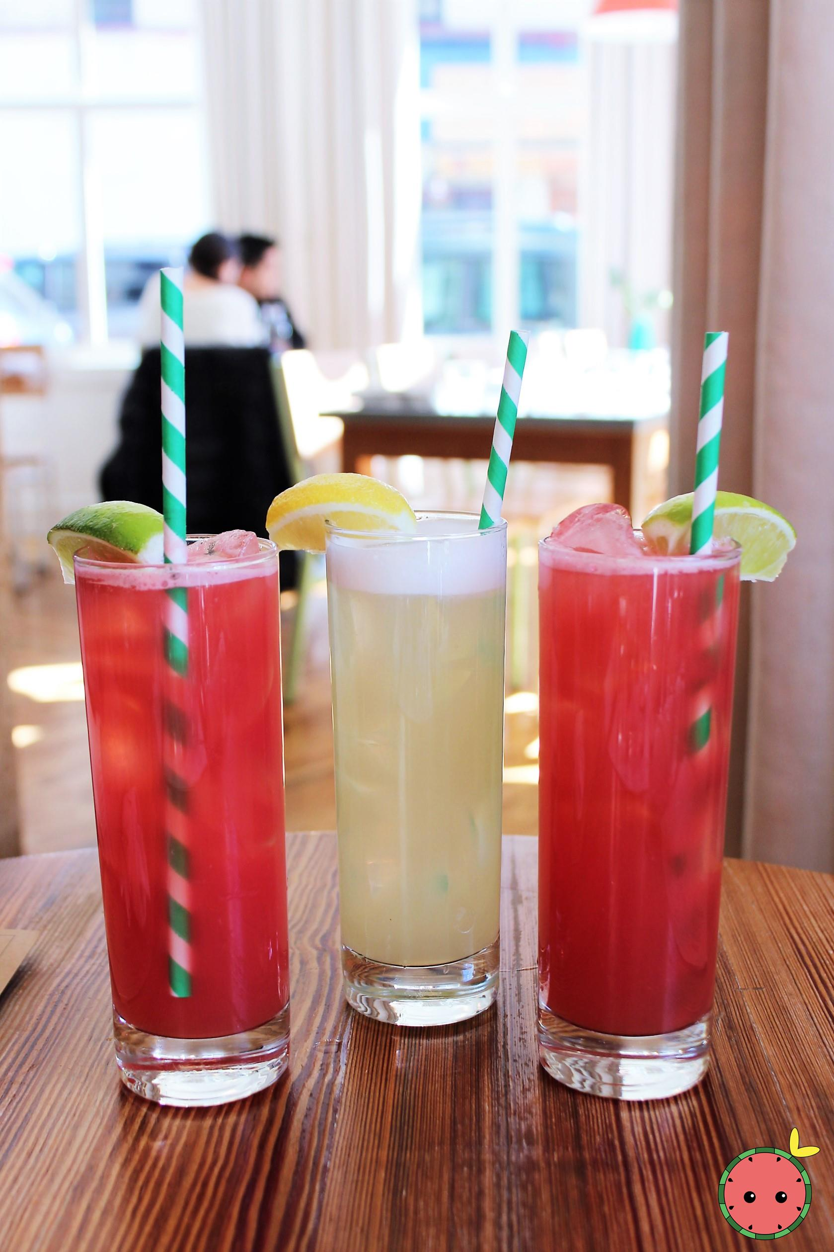 Watermelon Juice & Lemonade