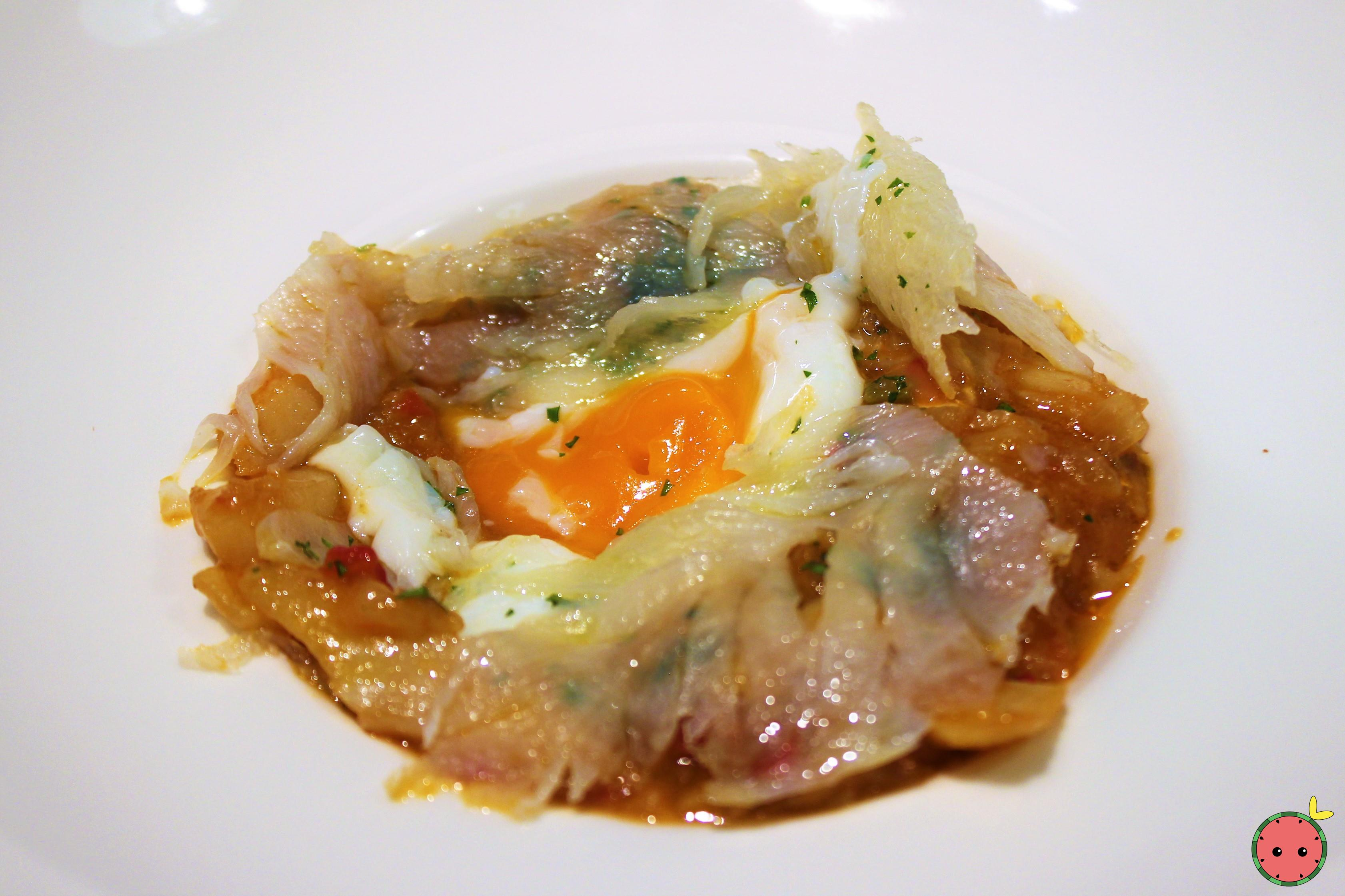 Ajoarriero Cod with Poached Egg