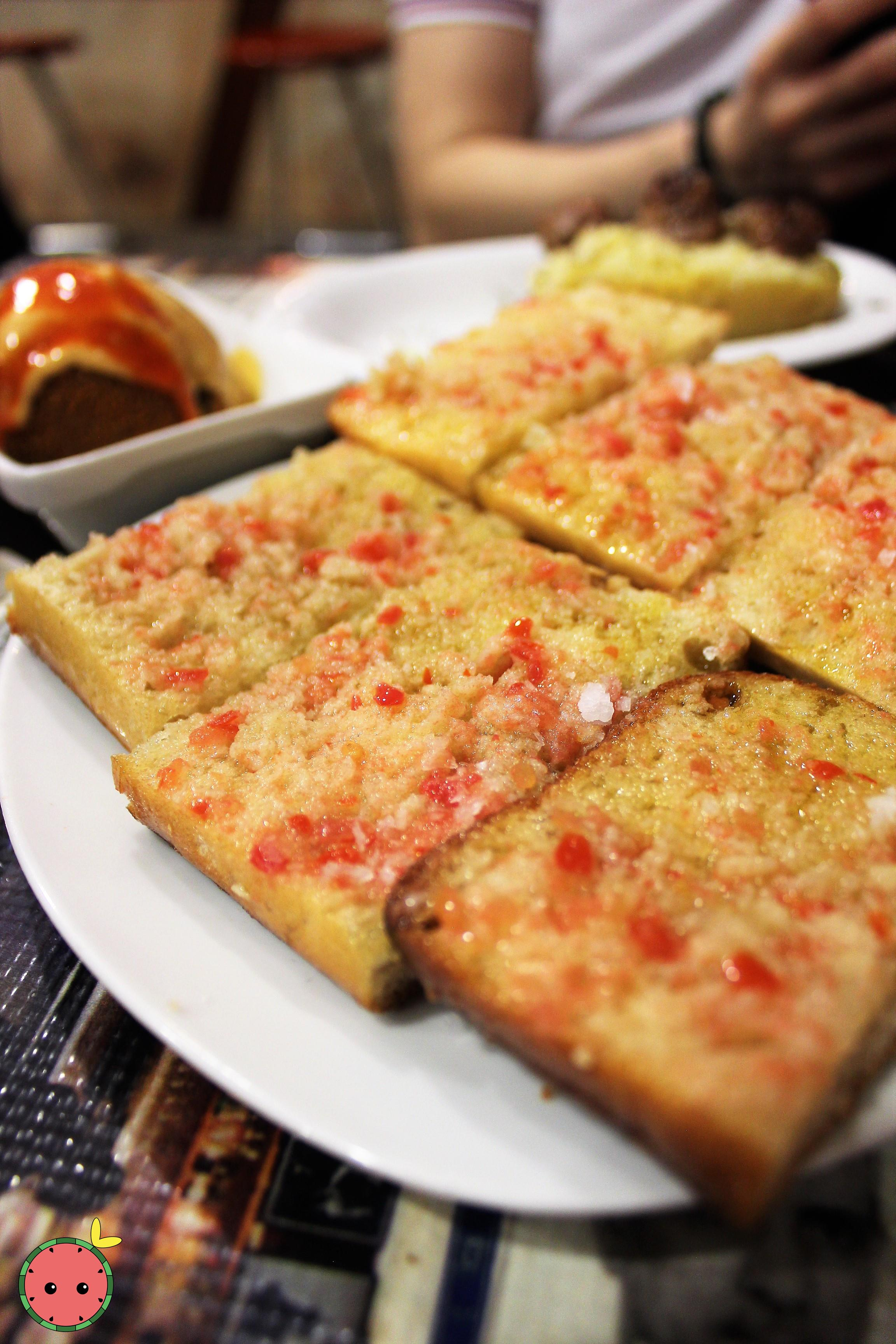 Toasted Bread with Tomato