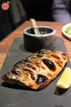 Pine Leaves Smoked Mackerel with Citrus Soy