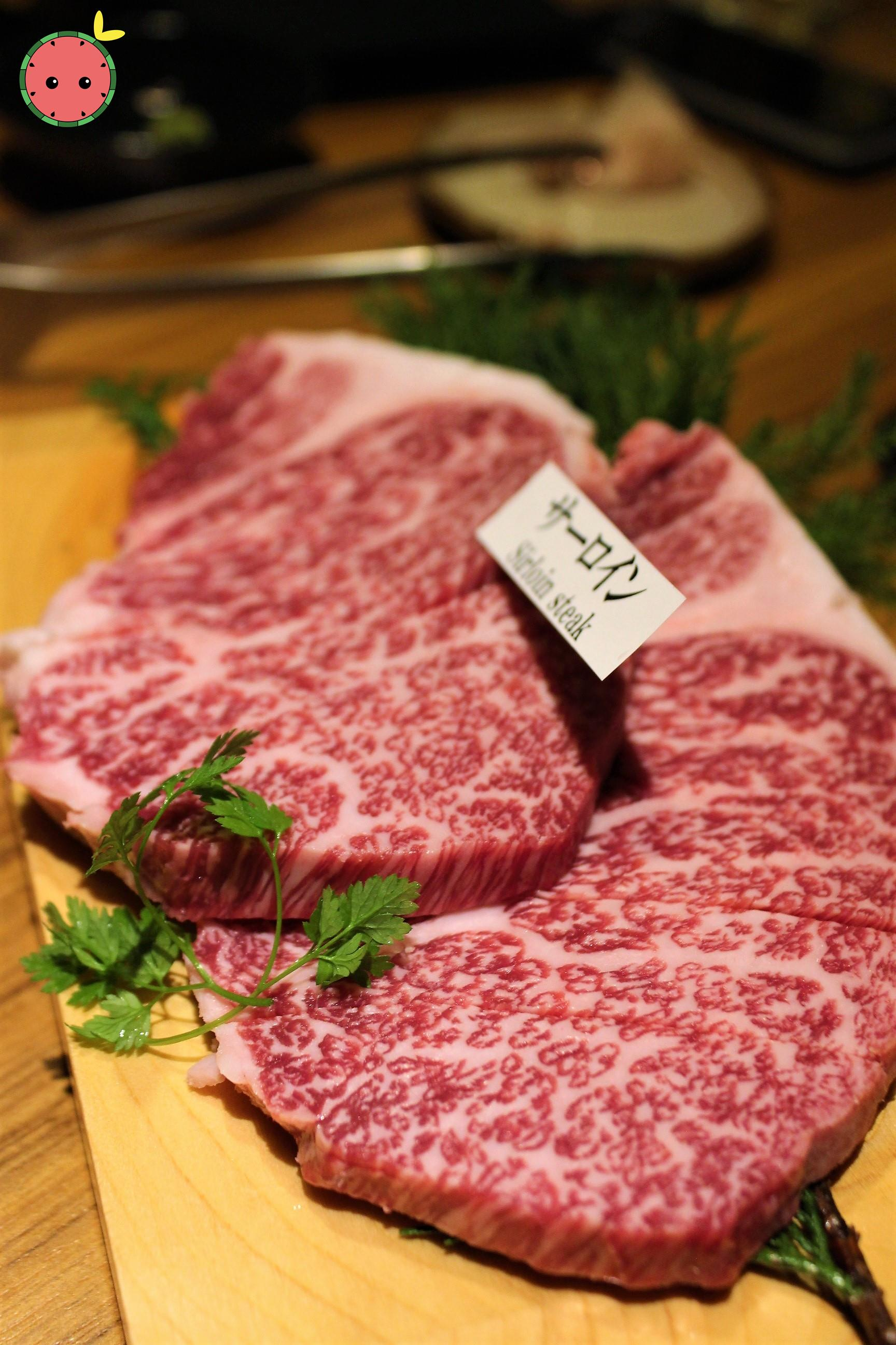 Sirloin Steak (before grilling)