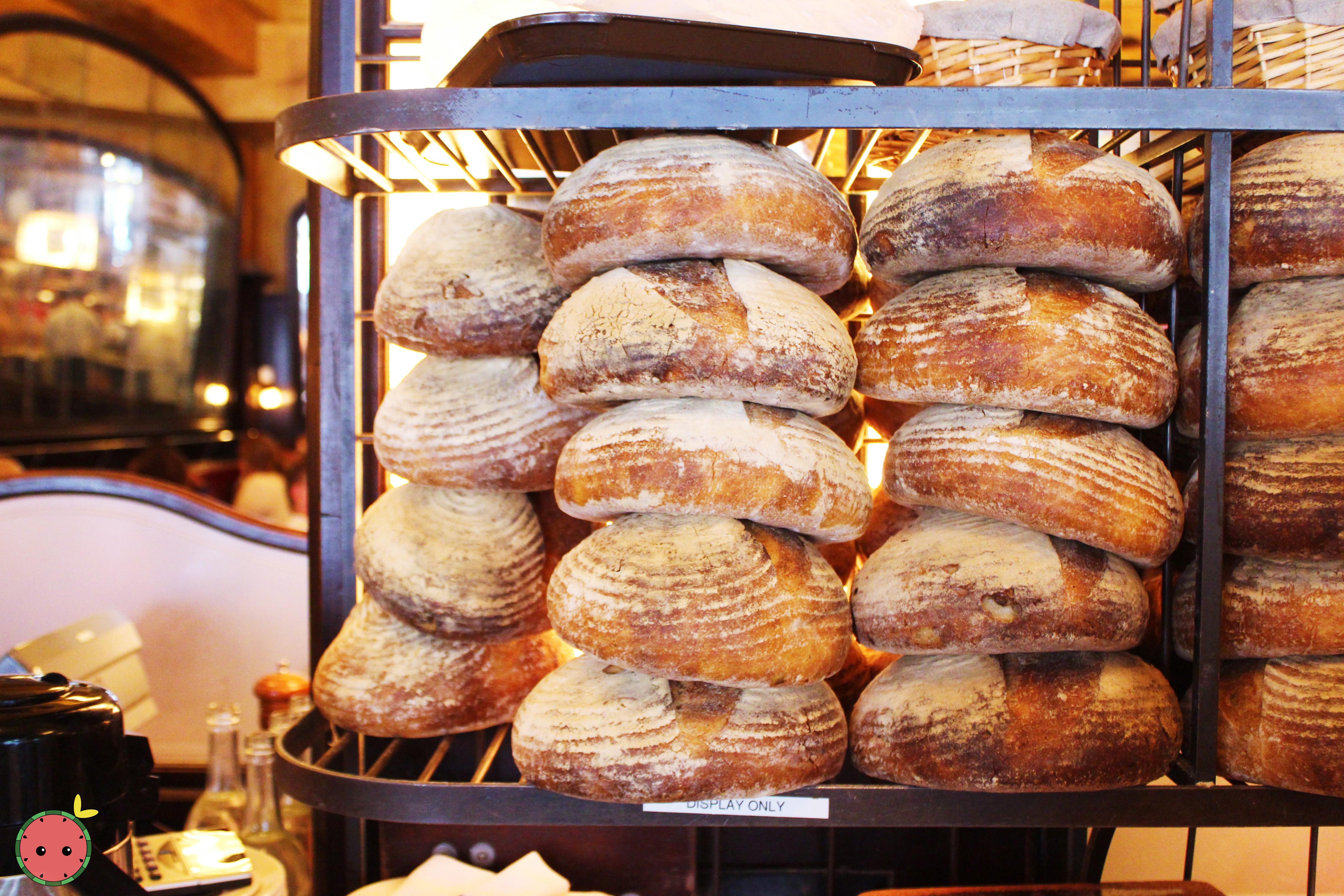 The famous Balthazar bread!