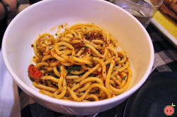 Spaghetti - Maine lobster, roasted tomato, chili & basil