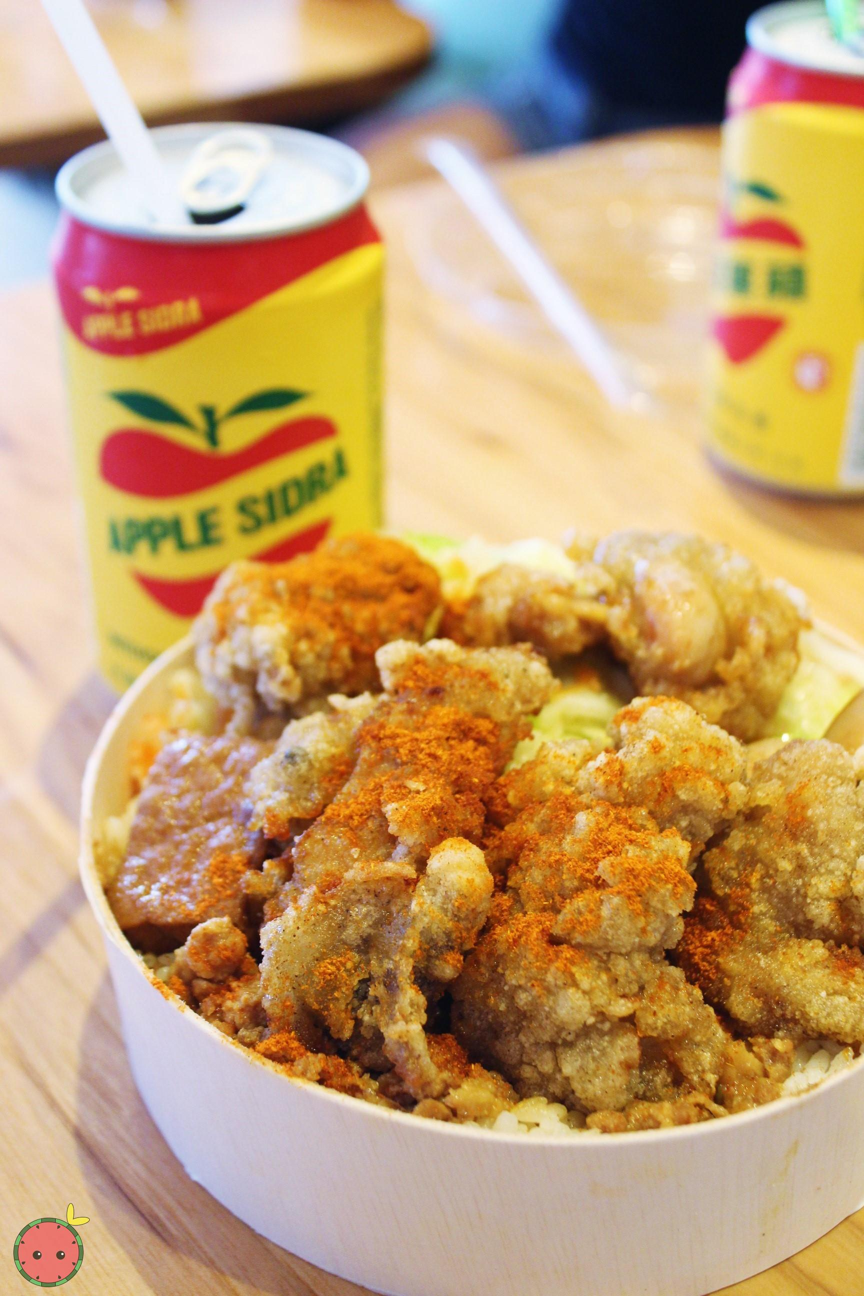Night market crispy chicken bento box
