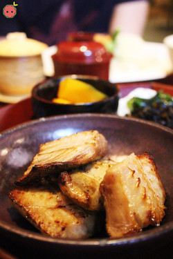 Saba - Grilled salted mackerel