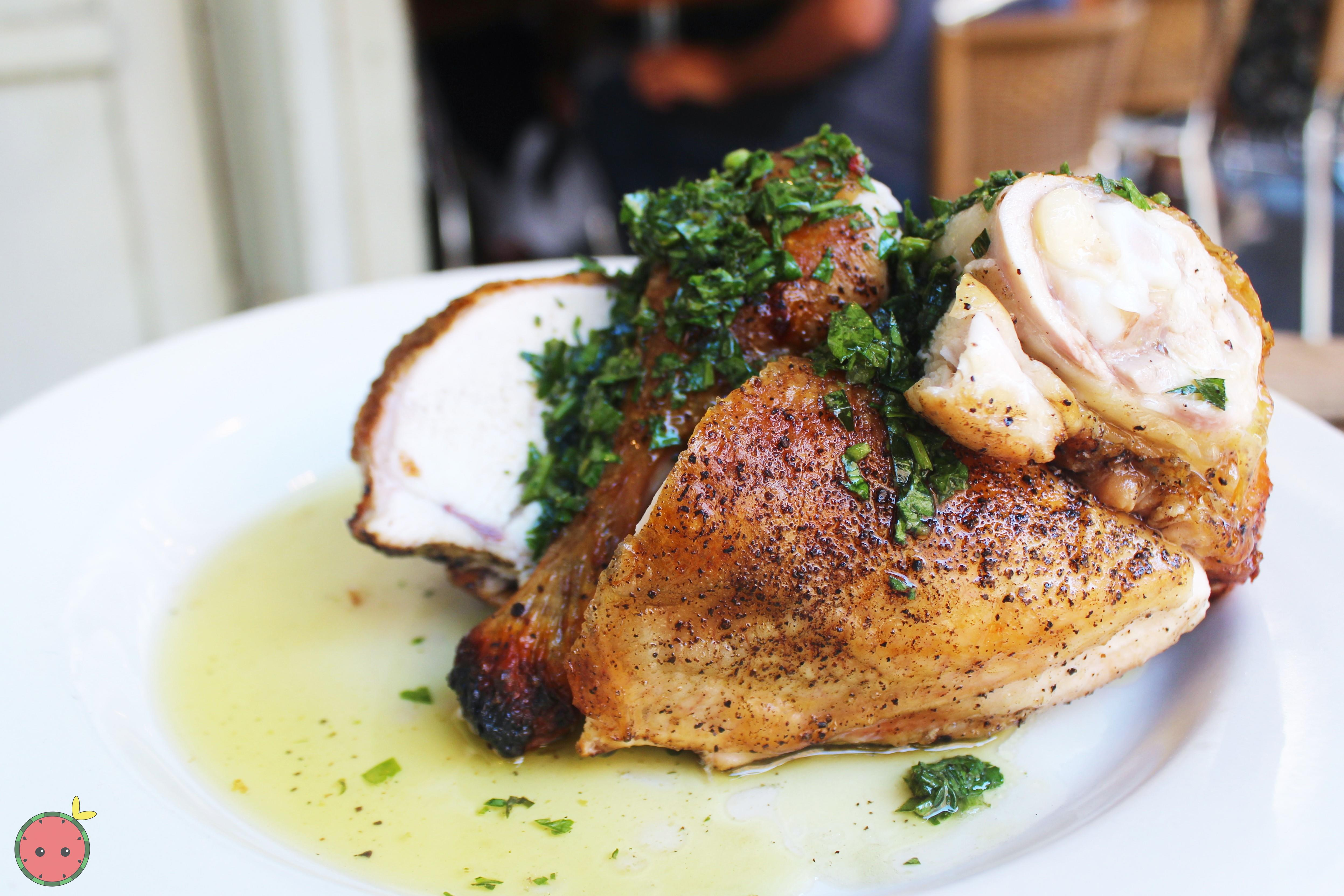 Pollo al Forno - Jonathan Waxman chicken & salsa verde