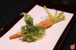 Kyo-Kanzashi Sweet Carrot Tempura 2