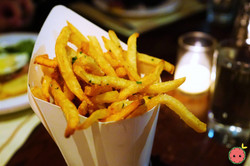 Truffle Pomme Frites with Parmesan & Fines Herbes