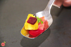 Fruits with beet