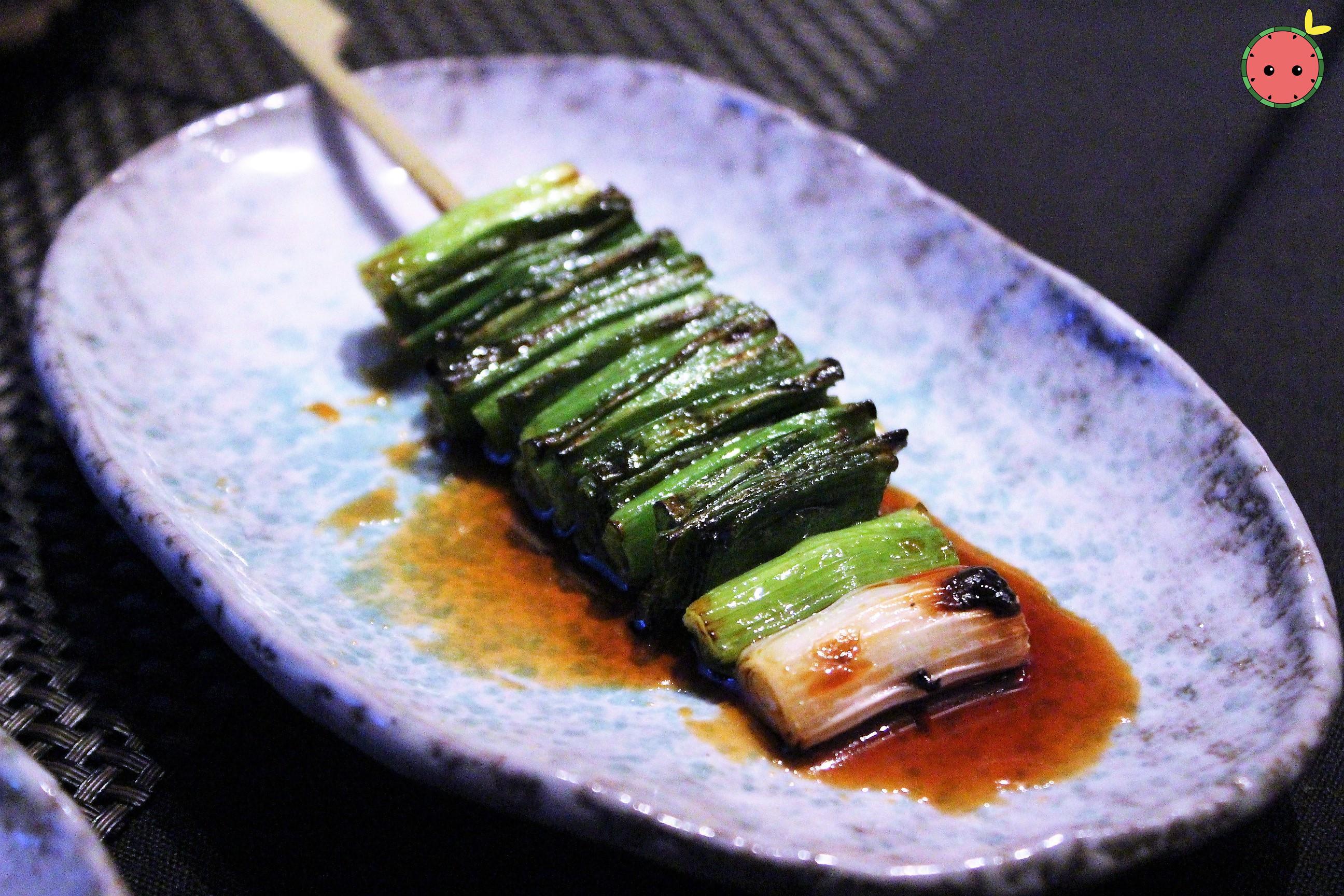 Green Scallion Yakitori