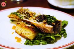 Bone Marrow with Oxtail Marmalade, Horseradish, & Gremolata (2)