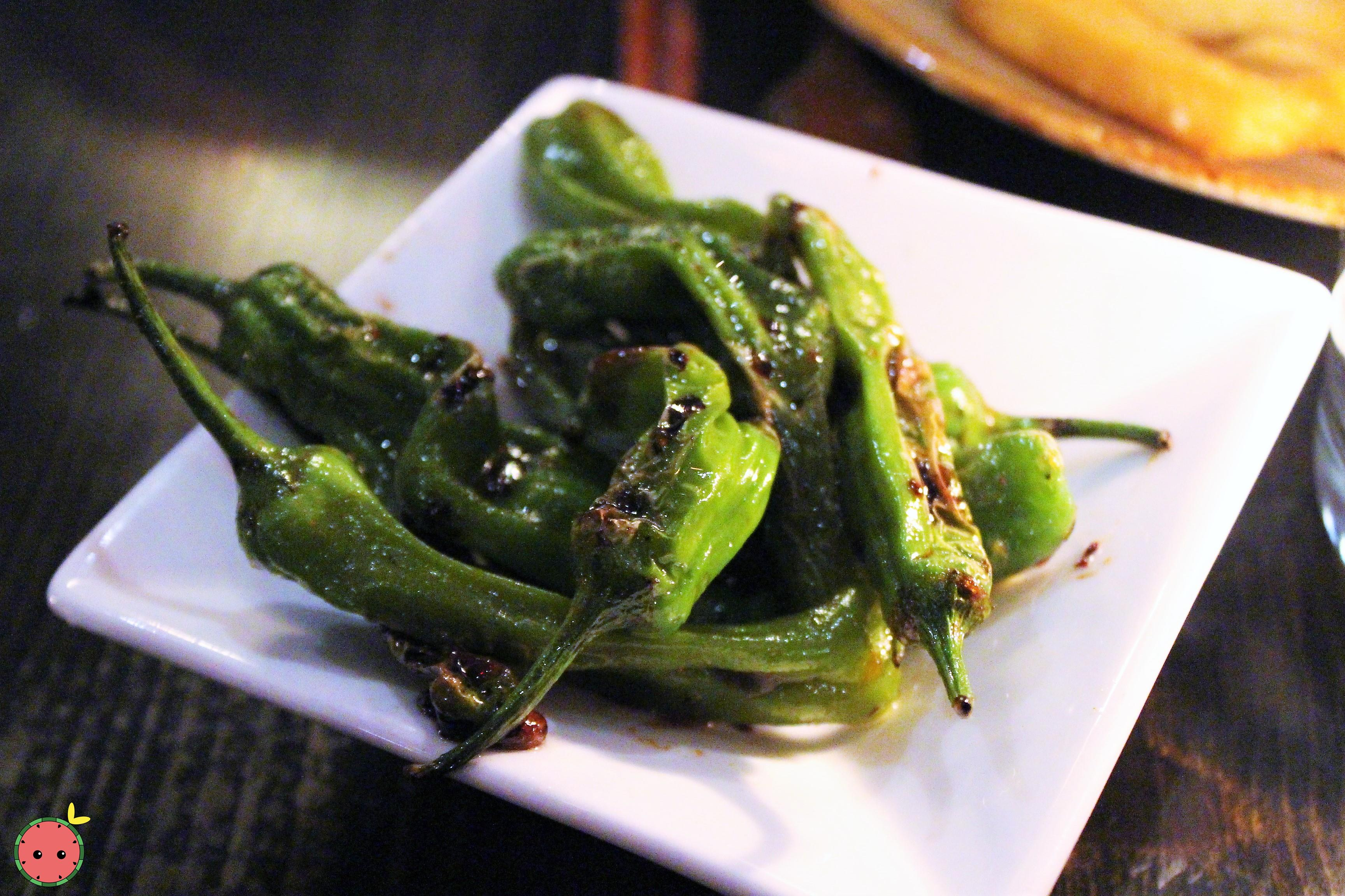 Shishito Peppers - Ginger soy, lime zest