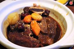 Galbi Jjim - Beef short rib, carrot, chestnut (1)