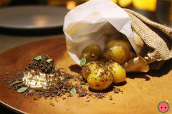 Baby Potato - Mushroom Crumble, Cultured Cream