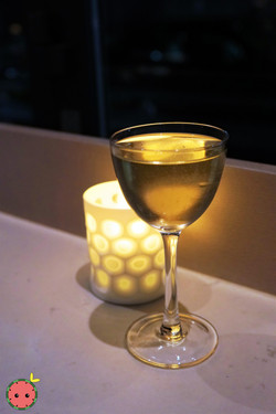 Seventh or Second - Reposado Tequila, Del Maguey Chichicapa Mezcal, Olive Oil, Manzanilla Sherry, Dr