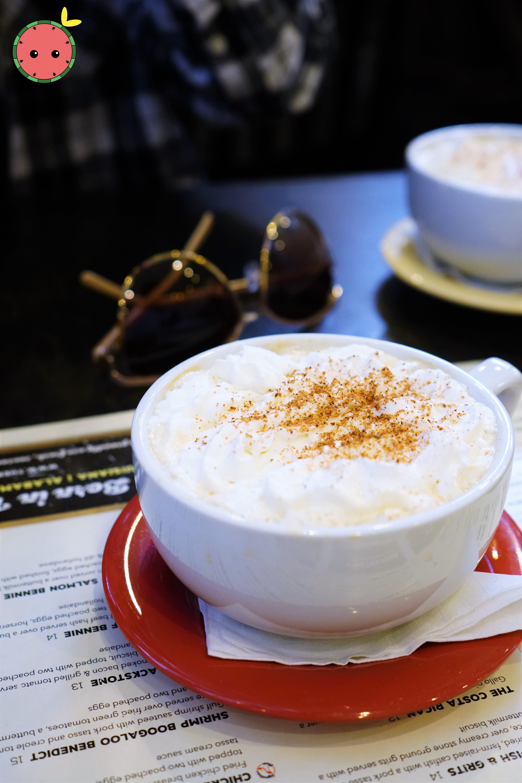 Creamy Vanilla Spice Latte