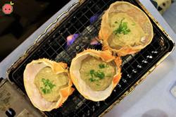Kanimiso Koura Yaki (while grilling)